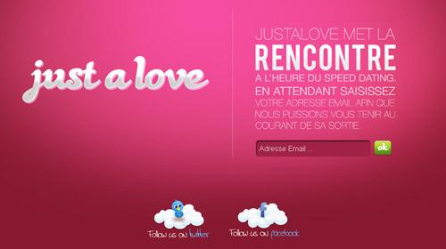 界面 交互 网站界面 网页设计-just a love