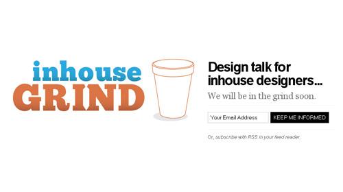 界面 交互 网站界面 网页设计-in house grind