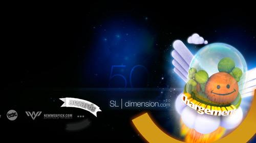 flash网站 界面设计 交互设计 ui 网页设计-33闪光flash酷站又来了-laplanete sldimension